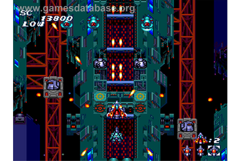 Soldier Blade - NEC PC Engine - Games Database