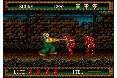 splatterhouse | Games I Made My Girlfriend Play