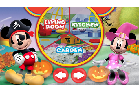 Halloween Mickey Mouse Clubhouse Game App for Kids ...