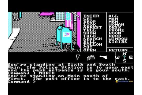 Borrowed time gameplay (PC Game, 1985) - YouTube