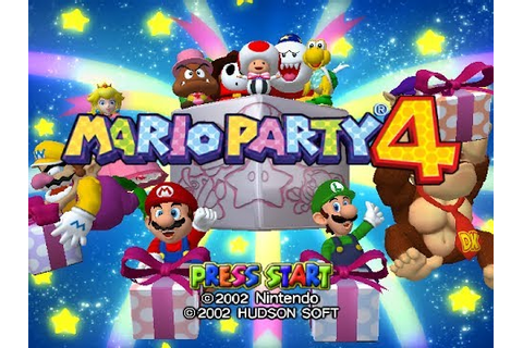 Mario Party 4 (GameCube) Review - YouTube
