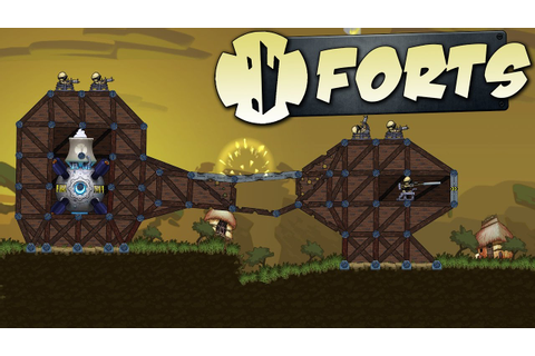 Forts Gameplay - Build and Defend Your Fort - Physics ...
