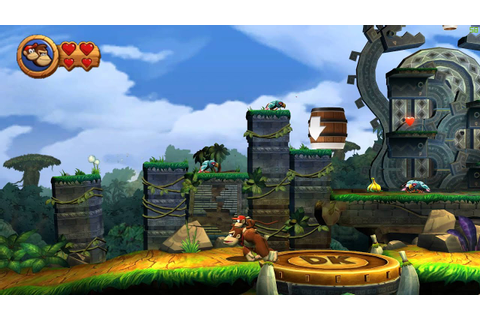 Donkey kong country returns PC gameplay 60fps - YouTube