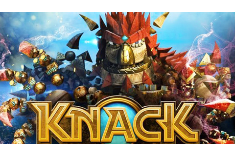 PS4 - Knack Gameplay Trailer - YouTube