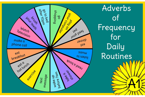 Spin and Speak: Adverbs of Frequency and Daily Routines ...