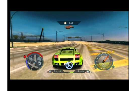 Need for Speed Undercover Wii Gameplay - YouTube
