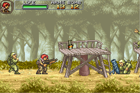 HonestGamers - Metal Slug Advance (Game Boy Advance)