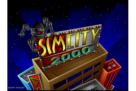 SimCity 2000 | Old DOS Games packaged for latest OS
