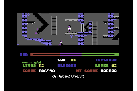 Download Son of Blagger (Commodore 64) - My Abandonware