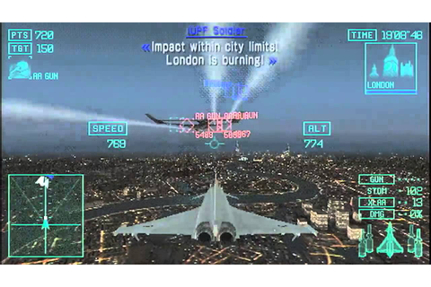 49 Ace Combat Joint Assault PSP PSP Go Launch Trailer with ...