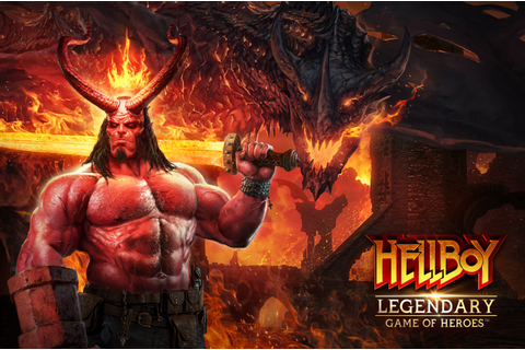 Hellboy comes to Legendary: Game Of Heroes this April