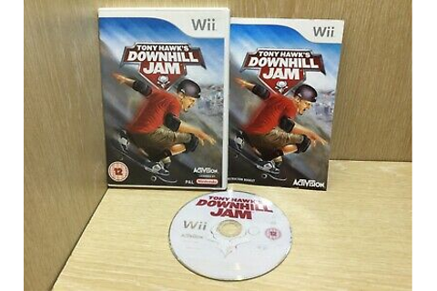 Tony Hawk's Downhill Jam Nintendo Wii Game Boxed with ...