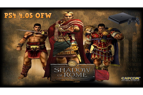 "Playing ""Shadow Of Rome"" on Ps4 - YouTube"