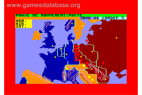 Theatre Europe - Amstrad CPC - Games Database
