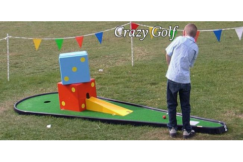 Crazy golf game hire or rent for corporate events, parties ...