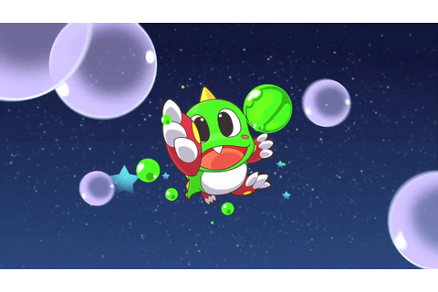 Puzzle Bobble Universe official 3DS HD video game launch ...