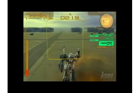 Armored Core: Last Raven PlayStation 2 Gameplay - - YouTube