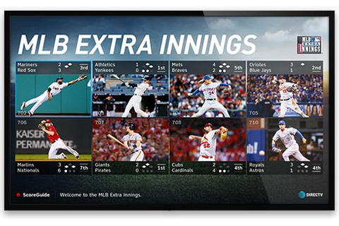 MLB EXTRA INNINGS | Watch MLB Games | DIRECTV Official