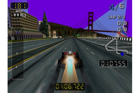 San Francisco Rush 2049 Nintendo 64 Game