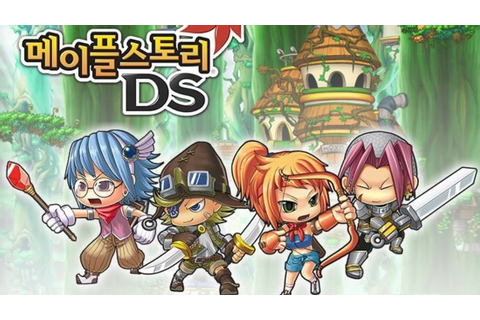 Maplestory DS Opening - YouTube