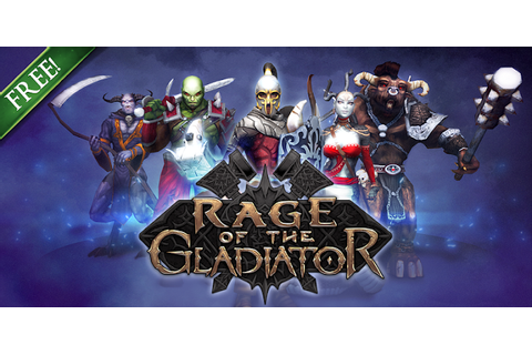 Play Rage of the Gladiator Game Online - Rage of the Gladiator
