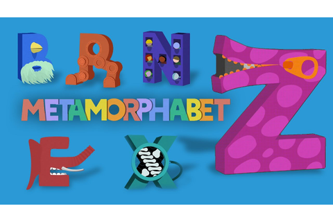 Metamorphabet: Imaginative ABCs - Letter come to life ...
