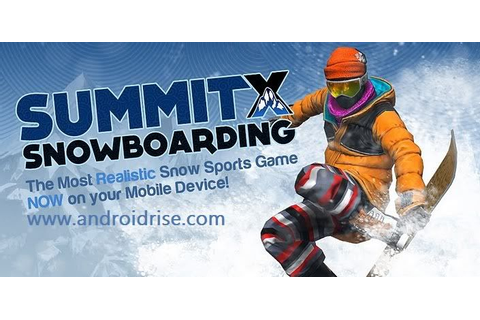 SummitX Snowboarding Android Game Download 36 multi ...