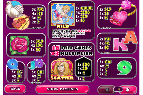 True Love Slot Machine - Free Play | DBestCasino.com