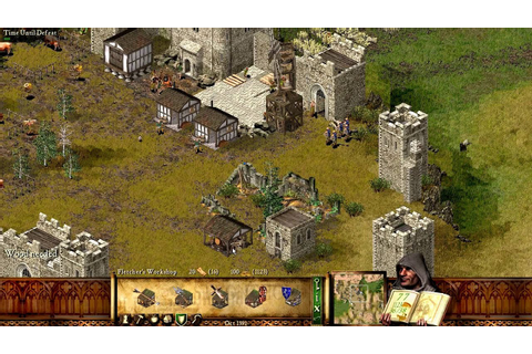 Stronghold HD gameplay - mission 4 economic campaign ...