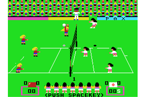 Game Classification : Volleyball (1986)