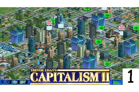 Let's Play: Capitalism II Episode 1 - Chewing Gum - YouTube