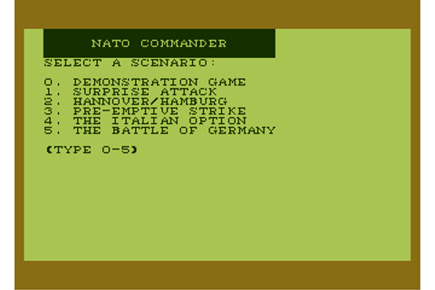Download NATO Commander - My Abandonware