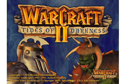 The Collection Chamber: WARCRAFT 2: TIDES OF DARKNESS