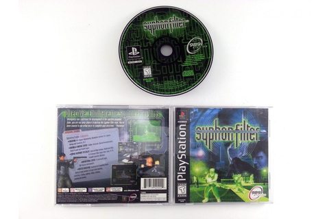 Syphon Filter game for Playstation (Complete) | The Game Guy