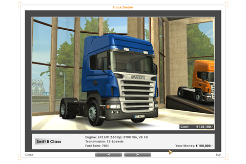 Euro Truck Simulator Game - Free Download Full Version For PC