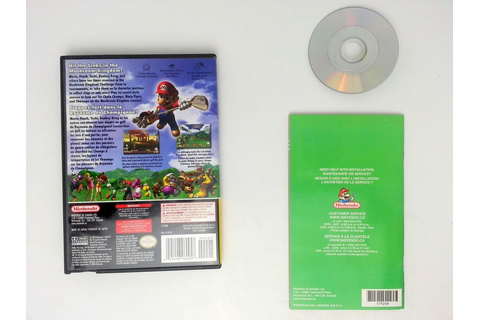 Mario Golf Toadstool Tour game for Nintendo Gamecube ...