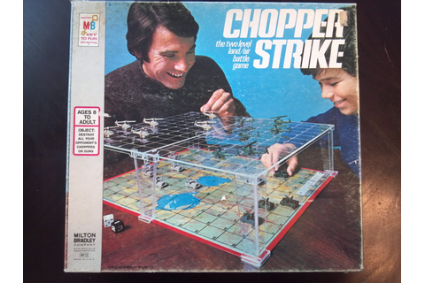Chopper Strike | A Board Game A Day