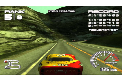 R4: Ridge Racer Type 4 | Team P.R.C | HD Playthrough Part ...