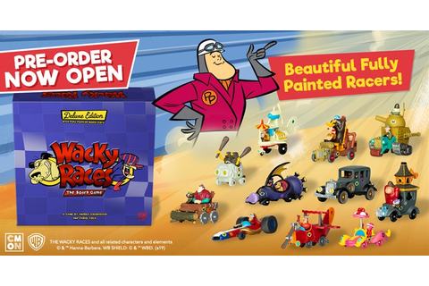 Pre-Orders Available For Wacky Races: The Board Game ...