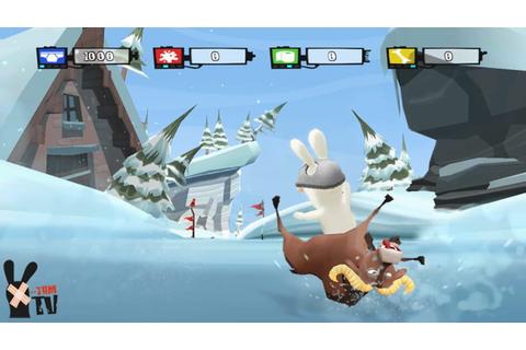 Rayman Prod Présente The Lapins Crétins Show En Qwant Games