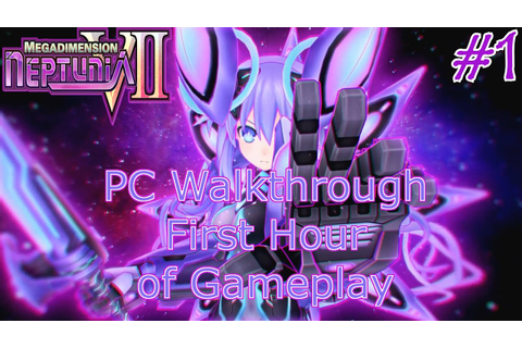 Megadimension Neptunia VII💜 - PC Walkthrough Part 1 ...