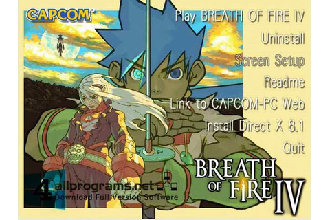 Breath Of Fire IV PC GAME Full Version | All Programs