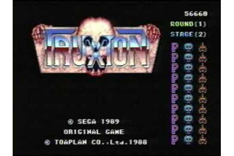 Classic Game Room HD - TRUXTON for Sega Genesis Megadrive ...