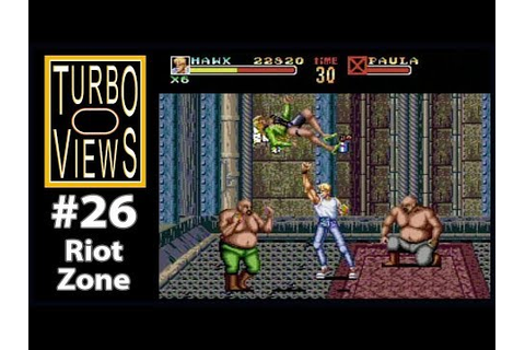 """Riot Zone"" - Turbo Views #26 (TurboGrafx-16 / Duo / Wii ..."
