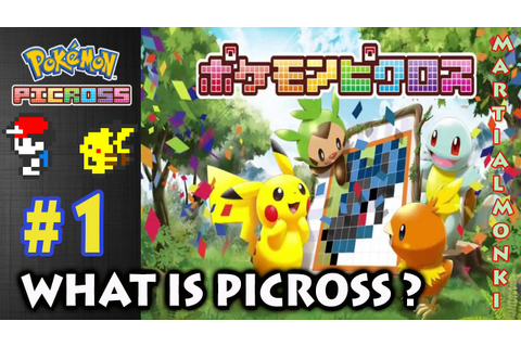What Is Picross - Let's Play Pokemon Picross Part 1 ...