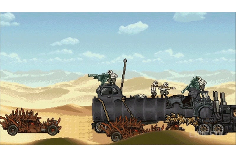Mad Max: Fury Road As A 90s Arcade Game