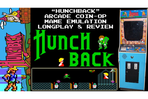 [ARCADE / MAME] Hunchback - Longplay & Review - YouTube