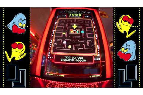 PAC-MAN Ticket Mania Arcade Game - YouTube