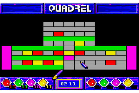 Quadrel (1991) by Loriciel Amstrad CPC game