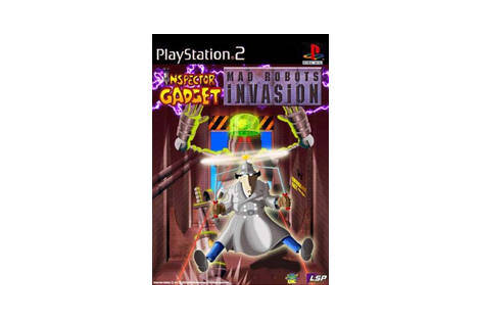 Inspector gadget mad robots invasion - Playstation 2: PS2 game